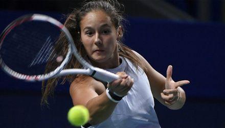Касаткина обыграла первую ракетку мира Возняцки вчетвертьфинале турнира вПетербурге
